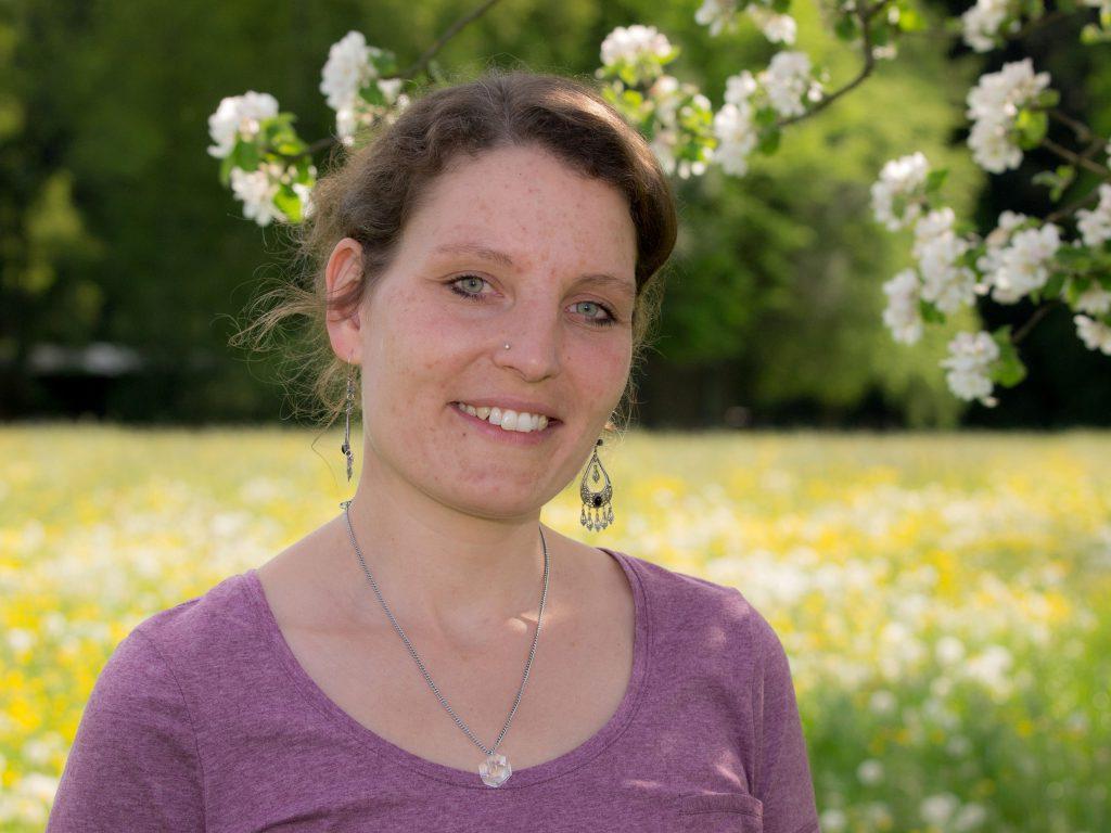 Naturcoiffeur Angela Hasler in der Natur